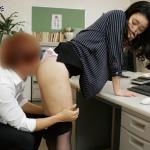 弱みを握られ教え子に校内での中出し性交を強要される人妻教師