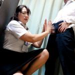 試着室で裾上げ中にチ◯ポを出す変態客に犯される熟女店員